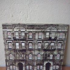 Discos de vinilo: LED ZEPPELIN - PHYSICAL GRAFFITI - DOBLE LP SWAN SONG 1975 ORIGINAL USA - PORTADA TROQUELADA. Lote 47733170
