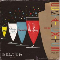 Discos de vinilo: EP-COCKTAIL DE EXITOS-BELTER 45050-SPAIN SIN FECHA-TRI CENTER-BARRY FRANK ANNE LLOYD TOMMY DORSEY. Lote 47738628