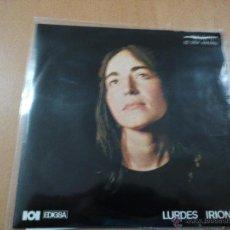 Discos de vinilo: LURDES IRIONDO - FESTA BUKATZEAN RARO EP EDIGSA 1969 + LETRAS. Lote 47742354