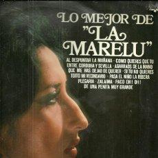 Discos de vinilo: LA MARELU LP SELLO DISCOPHON AÑO 1979. Lote 47743440