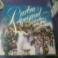 Discos de vinilo: BARBRA STREISAND ...AND OTHER MUSICAL INSTRUMENTS. Lote 47746318