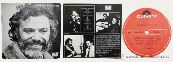 LE MÉTÈQUE. GEORGES MOUSTAKI. LP (Música - Discos - LP Vinilo - Cantautores Extranjeros)