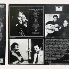 Discos de vinilo: LE MÉTÈQUE. GEORGES MOUSTAKI. LP. Lote 47750571
