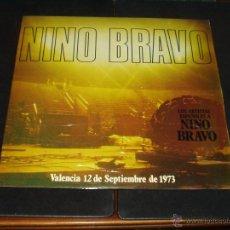 Discos de vinilo: NINO BRAVO DOBLE LP HOMENAJE (BRUNO LOMAS,FORMULA V, JULIO IGLESIAS,LOS PUNTOS, 5 CHICS ETC ). Lote 47753569