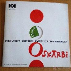 Discos de vinilo: OSKARBI GU GARA GU EP HERRI GOGOA 1969 CARPETA DESPEGABLE. Lote 47757928