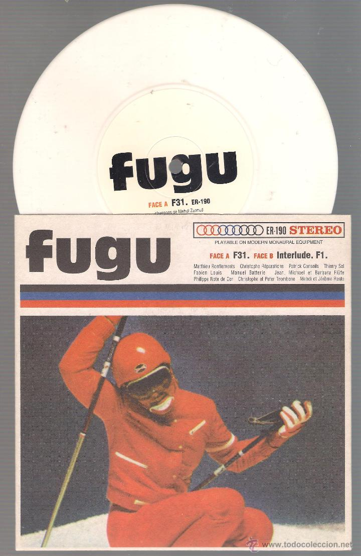 Discos de vinilo: FUGU - F31 + interlude F1 ( single vinilo 1999 ELEFANT RECORDS ) electro, - Foto 1 - 47758999