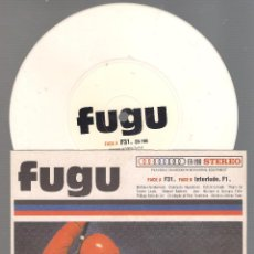 Discos de vinilo: FUGU - F31 + INTERLUDE F1 ( SINGLE VINILO 1999 ELEFANT RECORDS ) ELECTRO,. Lote 47758999
