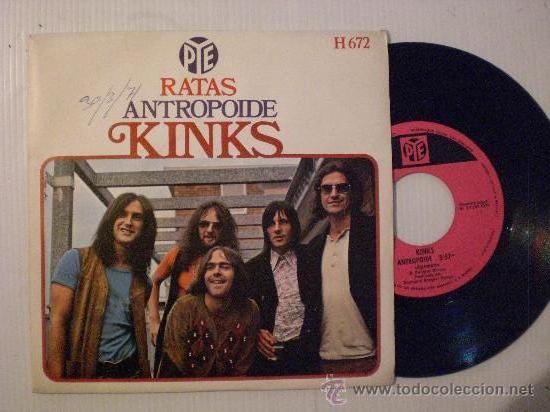 KINKS, RATAS, SINGLE HISPAVOX, 1970, SEMINUEVO VER FOTOS DE PORTADAS (Música - Discos - Singles Vinilo - Pop - Rock Internacional de los 50 y 60)