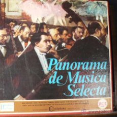 Discos de vinilo: ALBUM PANORAMA DE MUSICA SELECTA. Lote 47772968