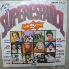 Discos de vinilo: VARIOS ARTISTAS. SUPERESPAÑOL. BELTER 2.77.001/2 DOBLE LP ESPAÑA 1978. Lote 47775061