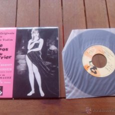 Discos de vinilo: LE REPOS DU GUERRIER BRIGITTE BARDOT EP ORIGINAL SOUNDTRACK MADE IN FRANCE 2010. Lote 47776498