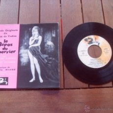 Discos de vinilo: LE REPOS DU GUERRIER BRIGITTE BARDOT EP ORIGINAL SOUNDTRACK MADE IN FRANCE 1962. Lote 47776640