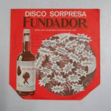 Discos de vinilo: DISCO SORPRESA FUNDADOR. 1971 KARINA Nº 10223. TDKDS1. Lote 47777099