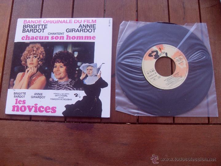 LES NOVICES BRIGITTE BARDOT EP ORIGINAL SOUNDTRACK MADE IN FRANCE 2010 (Música - Discos de Vinilo - EPs - Bandas Sonoras y Actores)