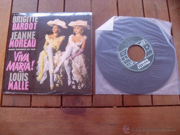 VIVA MARIA BRIGITTE BARDOT EP ORIGINAL SOUNDTRACK MADE IN FRANCE 2010 (Música - Discos de Vinilo - EPs - Bandas Sonoras y Actores)
