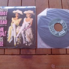 Discos de vinilo: VIVA MARIA BRIGITTE BARDOT EP ORIGINAL SOUNDTRACK MADE IN FRANCE 2010. Lote 47777735