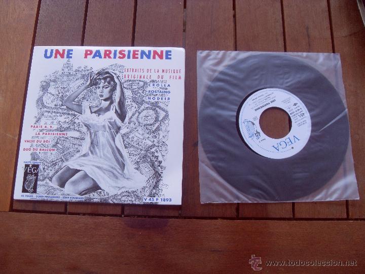 UNE PARISIENNE BRIGITTE BARDOT EP ORIGINAL SOUNDTRACK MADE IN FRANCE 2010 (Música - Discos de Vinilo - EPs - Bandas Sonoras y Actores)