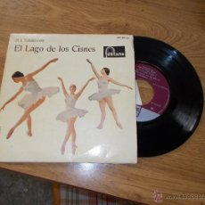 Discos de vinilo: EL LAGO DE LOS CISNES. TCHAIKOVSKY. ORQUESTA SINFONICA DE VIENA.. Lote 47780705