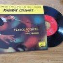 Discos de vinilo: FRANCK POURCEL. CZARDAS. BARCAROLA. EL CISNE. REVERIE. Lote 47781546