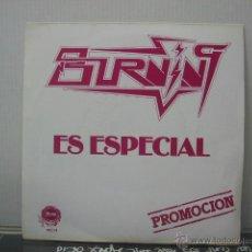 Discos de vinilo: BURNING - ES ESPECIAL - PROMO - OCRE 1980. Lote 47782931