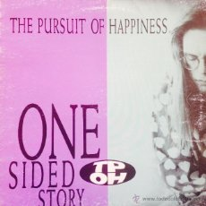 Discos de vinilo: THE PURSUIT OF HAPPINESS - ONE SIDED STORY . LP . 1990 CHRYSALIS - 64 3217571 . Lote 47783039