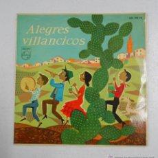 Discos de vinilo: ALEGRES VILLANCICOS. TDKDS2. Lote 47783928