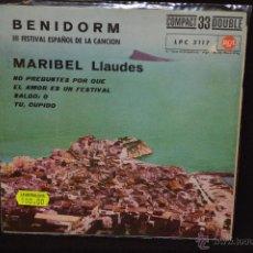 Discos de vinilo: MARIBEL LLAUDES (KARINA) - NO PREGUNTES POR QUE + 3 - EP. Lote 47784063