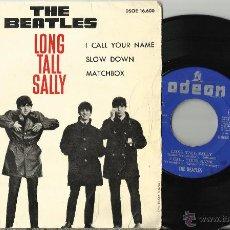 Discos de vinilo: THE BEATLES EP LONG TALL SALLY + 3.ESPAÑA 1964.DSOE 16600.PROBADO Y ESCUCHADO. Lote 47788586