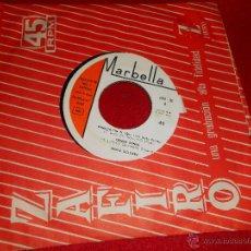 Discos de vinilo: MARIA DOLORES VENECIA SIN TI/DONNA DONNA/BAILA LA YENKA/PLUS JE T'ENTENDS EP 1965 MARBELA CHICA YEYE. Lote 47790905