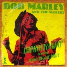 Discos de vinilo: SINGLE VINILO BOB MARLEY JAMMING. Lote 47792355