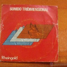 Discos de vinilo: SINGLE VINILO THIRD DIMENSION GRUPO ALEMAN MUSICA DISCO RARO. Lote 47792470