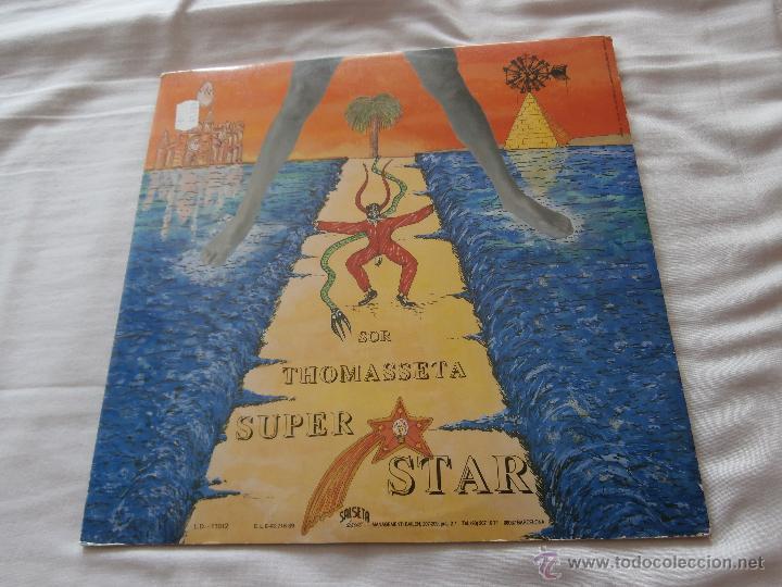 Discos de vinilo: RAPHEL PHERRER (PAU RIBA) LP SOR TOMASSETE SUPERSTAR (1989) CANTA MALLORQUIN *MUY RARO* COMO NUEVO - Foto 2 - 47792659