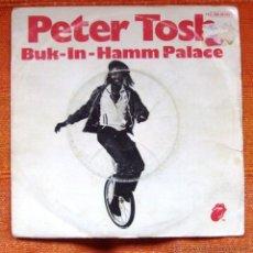 Discos de vinilo: SINGLE VINILO PETER TOSH REAGGE. Lote 47792691
