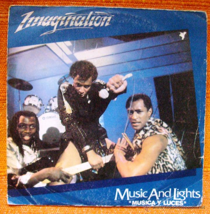 SINGLE VINILO IMAGINATION MUSIC AND LIGHTS (Música - Discos - Singles Vinilo - Disco y Dance)