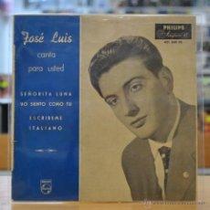 Discos de vinilo: JOSE LUIS - SEÑORITA LUNA - + 3 - EP. Lote 47795601