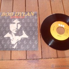 Discos de vinilo: BOB DYLAN SINGLE ANIMALS MADE IN SPAIN 1979. Lote 47797573