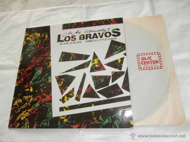 MIKE KENNEDY - LOS BRAVOS 12¨ MAX´SG BLACK IS BLACK / BRING A LITTLE LOVIN *SUPER-RAREZA*NUEVO* (Música - Discos de Vinilo - Maxi Singles - Grupos Españoles 50 y 60)