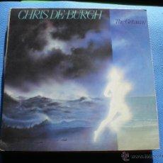 Discos de vinilo: CHRIS DE BURGH, THE GETAWAY, AM LP 1982 CON ENCARTE PEPETO. Lote 47805098