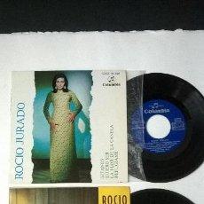 Discos de vinilo: ROCIO JURADO 2 EPS GITANOS / YA VIENEN LOS MAYORALES. Lote 47812063