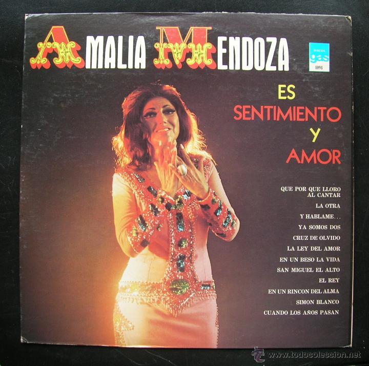 Resultado de imagen para Amalia Mendoza Es Sentimiento y Amor