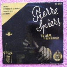 Discos de vinilo: PIERRE SPIERS SU ARPA Y SUS RITMOS MABEL HISPAVOX HB 8724 PARÍS DISCO VINILO. Lote 47815717