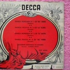 Discos de vinilo: CLEMENS KRAUSS DECCA 8006 ORQUESTA SINFÓNICA DE LONDRES DANZA (4) DISCO VINILO. Lote 47820360