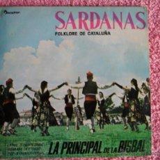 Discos de vinilo: SARDANAS 1961 DISCOPHON 17316 COBLA LA PRINCIPAL DE LA BISBAL SA RONCADORA VOL 2 DISCO VINILO. Lote 47820526