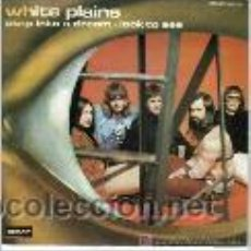 Discos de vinilo: WHITE PLAINS - STEP INTO A DREAM + LOOK TO SEE SINGLE DERAM EN 1973 VG++/VG++. Lote 47821727