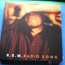 Discos de vinilo: REM RADIO SONG MAXI 1991 .3TEMAS.VERSION DE TROGGS. PDELUXE. Lote 47822023