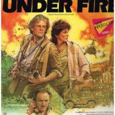 Discos de vinilo: UNDER FIRE - ORIGINAL MOTION PICTURE SOUND TRACK - LP 1983. Lote 47822067