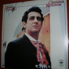 Discos de vinilo: PLACIDO DOMINGO.CANCIONES MEXICANAS.LP.CBS.1982.MADE IN U.S.A.. Lote 47822994