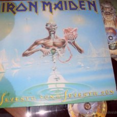 Discos de vinilo: IRON MAIDEN LP SEVENTH SON OF A SEVENTH SON MADE IN SPAIN 1988 . Lote 57158383