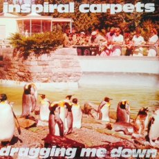 Discos de vinilo: INSPIRAL CARPETS - DRAGGING ME DOWN . MAXI SINGLE . 1992 MUTE UK - DUNG 16T. Lote 47824960