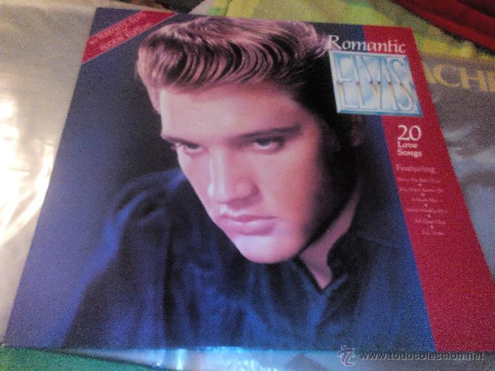 ELVIS. ROMANTIC ELVIS -20 LOVE SONGS.LP RCA 1982.RAREZA (Música - Discos de Vinilo - Maxi Singles - Pop - Rock Extranjero de los 50 y 60)